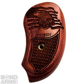 The Patriot Extended Rosewood Grips