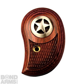 Standard Rosewood Grips w/ Silver Star