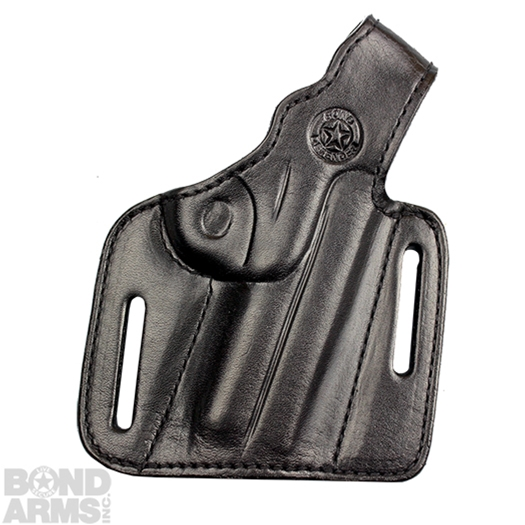 Smooth Lined Thumb Break Leather Holster