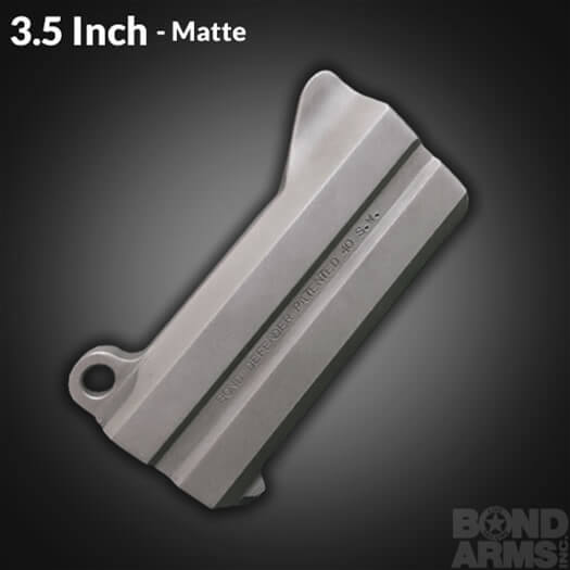 3.5 Inch Accessory Barrel - Backup Matte Finish (Bead Blasted)
