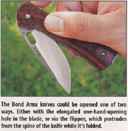 Bond Arms Buck Knife