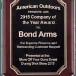 Bond Arms Award