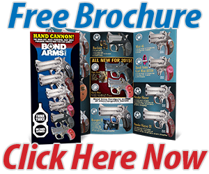 Click Here to Get Your Free 2015 Bond Arms Brochure