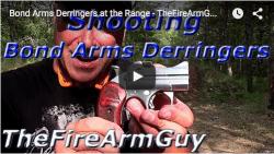 Bond Arms Derringers at the Range – TheFireArmGuy