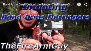 Bond Arms Derringers at the Range – TheFireArmGuy