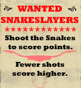 Snake Slayer Shooting Game